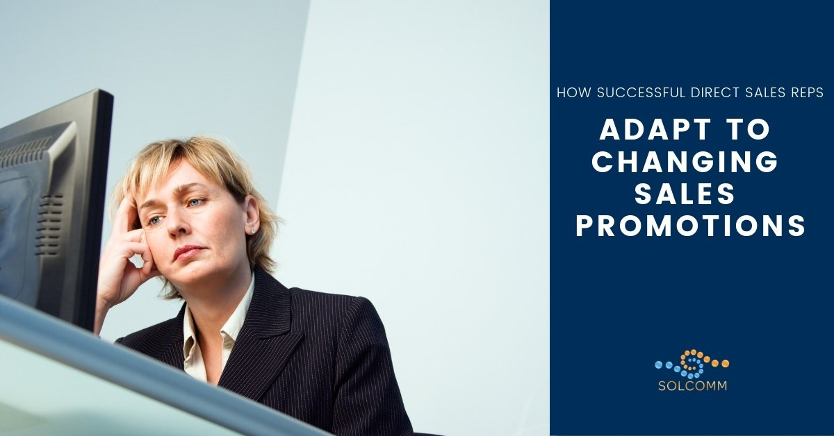 Solcomm How Successful Direct Sales Reps Adapt to Changing Sales Promotions